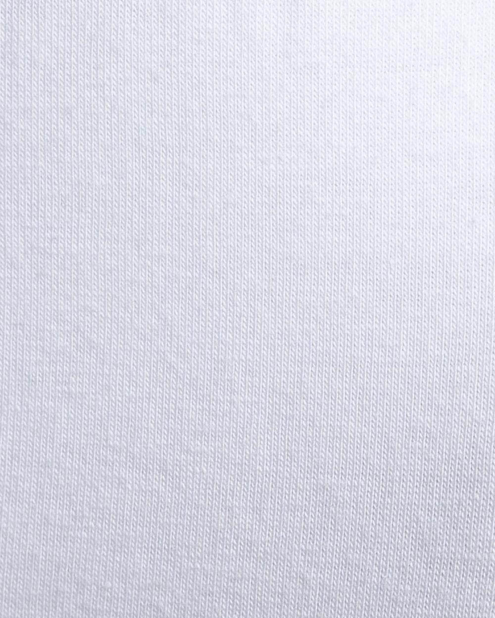 Zoom sur la matière du slip athesans blanc de la marque S BORDEAUX