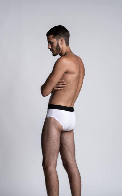Slips blancs pour homme Athesans de la marque de sous-vêtements S BORDEAUX